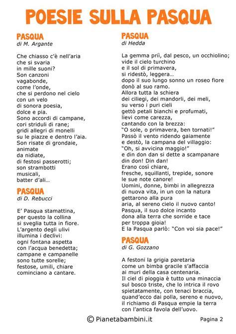 testi sulla pasqua scuola primaria 17 best images about poesie filastrocche e on