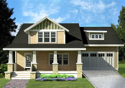 Arts And Crafts Home Plans by Arts Crafts Bungalow House Plan 50104ph