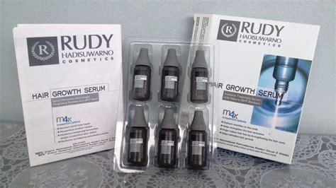 Hair Mask Di Salon Rudy rudy hadisuwarno hair growth serum tespek