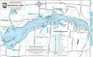 Ohio Lakes Map by Buckeye Lake State Park Ohio S Buckeye Lake Region