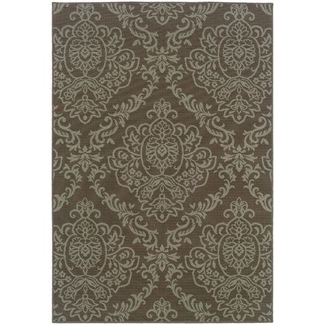 home decorators collection saddlestitch all weather area rug ebay home decorators collection saddlestitch grey chagne 8