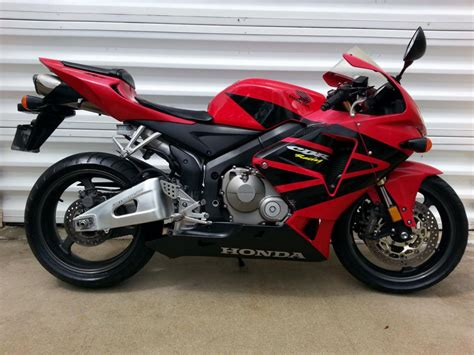 honda 600rr 2005 2005 honda cbr600rr 600rr sportbike for sale on 2040 motos