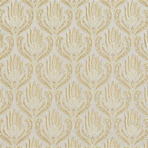 brocade upholstery b0730b gold and chagne small scale damask brocade