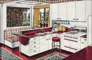 1940 Kitchen Design The Beautiful World Of 1940s Linoleum Flooring The