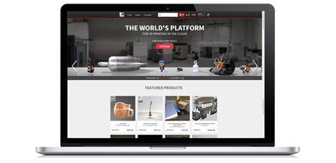 3d printing website templates