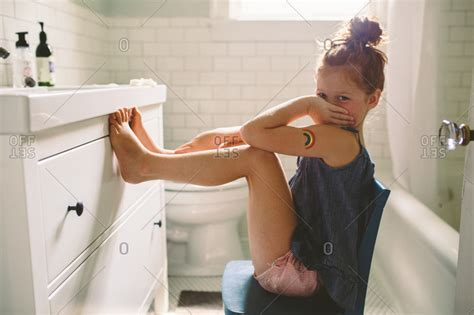 Photo Of Girl In Bathroom