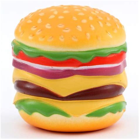 Squishy Burger colorful hamburger food squishy kawaii oriker food squishies squishies shop modes4u
