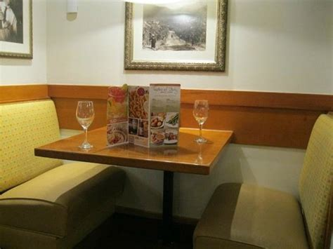 booth picture of olive garden myrtle tripadvisor
