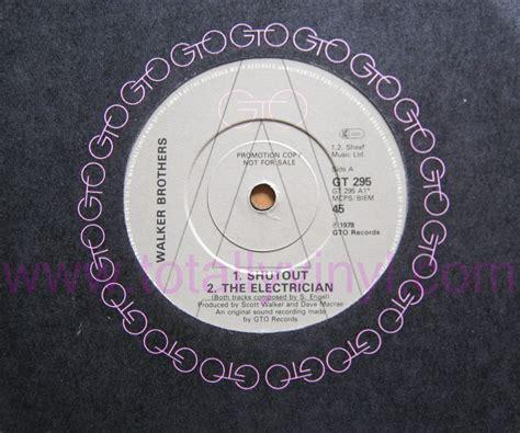 walker brothers nite flights vinyl reissue totally vinyl records walker brothers the shut out 7