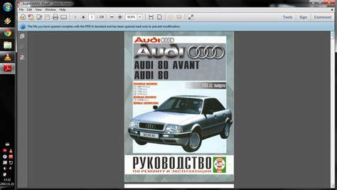 Audi 80 B4 Manual by Audi 80 B4 Sedano 1 9tdi Manual 0 20 171 Audifanai