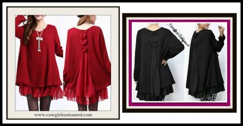Back Rp 12500 N Black Blouse With Lace sleeve shirts n blouses cowgirls untamed page 3