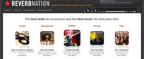 download mp3 from reverbnation online reverbnation plataforma social de marketing musical