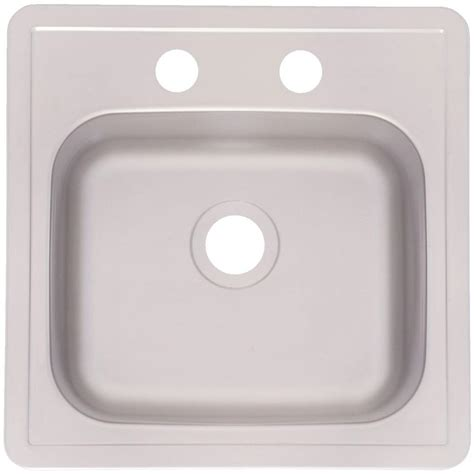 frankeusa sinks frankeusa drop in satin stainless steel 15 in 2 bar