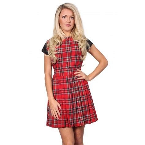 Tartania Dress tartan dress
