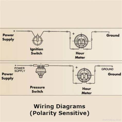 hobbs hour meter wiring diagram repair wiring scheme