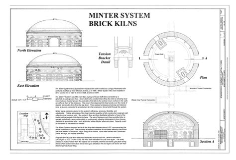 section 8 montgomery county file minter system brick kilns elevations section and