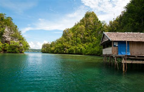 Blue Kitchen Islands warikaf homestay raja ampat accommodation on gam island