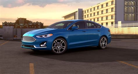 2019 Ford Fusion by Exterior Color Options For The 2019 Ford Fusion Lineup