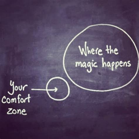 where the magic happens your comfort zone make the magic happen running pinterest