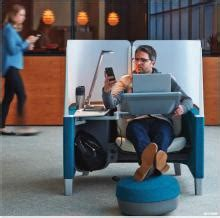 steelcase brody work lounge  business class seating