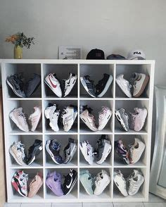 ikea kallax shoe storage customized an ikea shelf to make the perfect sneaker