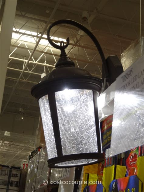 outdoor lights costco outdoor led lantern