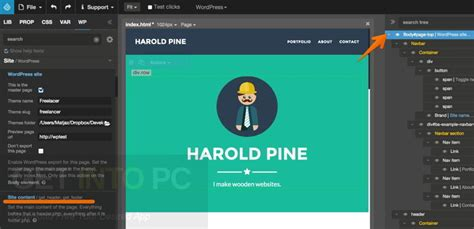free download website layout maker 1 92 pinegrow web editor 2 92 free download