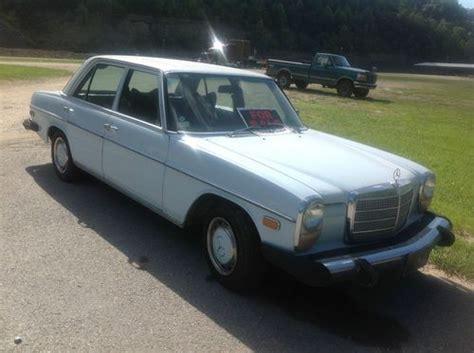 1976 mercedes 240d buy used 1976 mercedes 240d base sedan 4 door 2 4l in