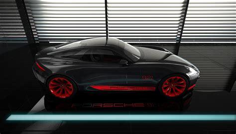 Porsche 921 Concept by Porsche 921 Vision Design Concept 95 Octane