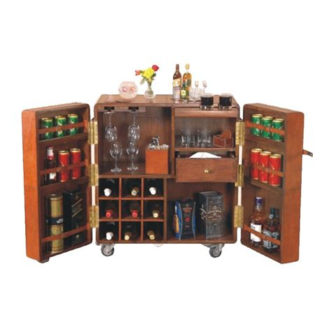 Leather Bar Cabinet Leather Bar Cabinet Wrappings