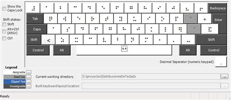 que es keyboard layout distribuciones de teclado para windows braille espa 241 ol