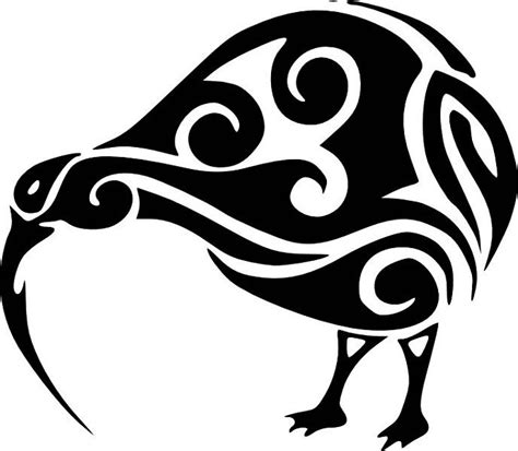 kiwi tribal tattoos 83 best nz creatures for 3d images on kiwiana
