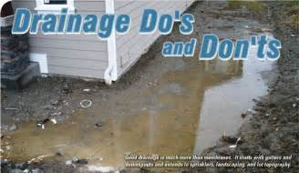How Much Is It To Waterproof A Basement - drainage do s and don ts