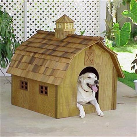 barn dog house plans barnplans doggie barn