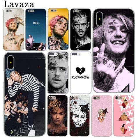lavaza xxxtentacion lil peep lil bo peep hard cover case