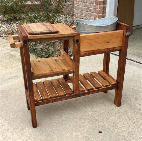 ana white outdoor beverage cart diy projects