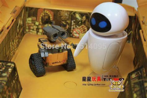 Limited Stock Wall E Figure Set aliexpress buy 2pcs set wall e robot wall e pvc figure collection model toys