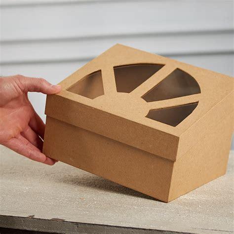 Paper Mache Craft Supplies - paper mache window box paper mache basic craft