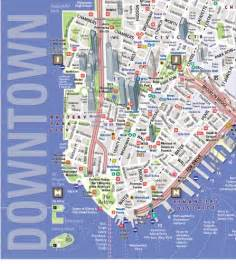 map downtown nyc downtown new york map