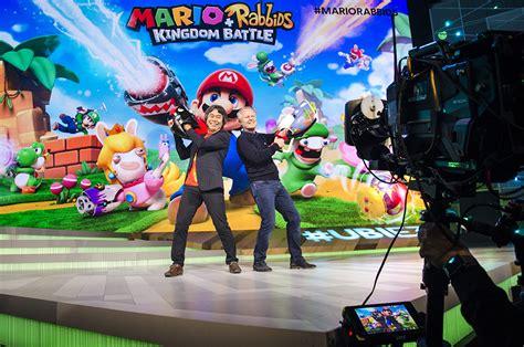 Murah Mario Rabbids Kingdom Battle Nintendo Switch 161 ya es oficial ubisoft presenta mario rabbids para