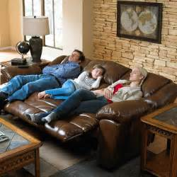 Catnapper Loveseat Transformer 3 Way Reclining Sofa With Drop Down Table