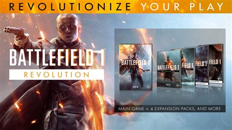 One Revolution by Join The Ranks With Battlefield 1 Revolution