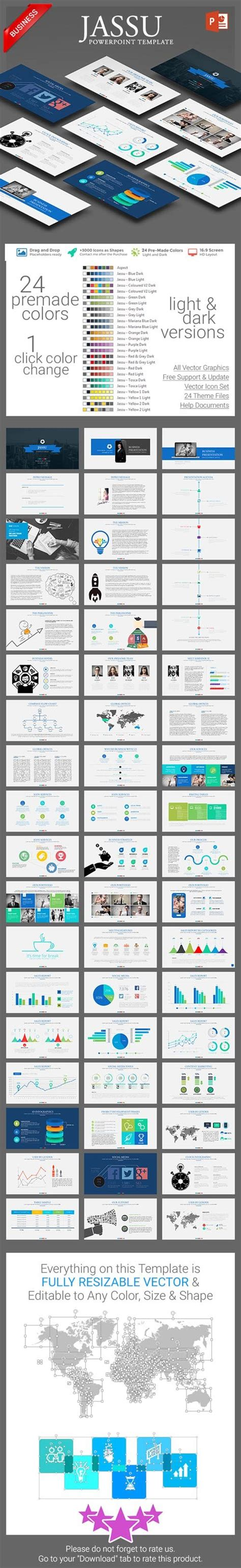 Business Powerpoint Template Nulled Graphics Graphicriver Jassu Business Template