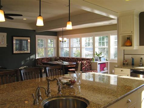 breakfast nook kitchen madson design project gallery historic home remodel