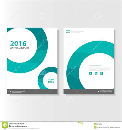 conference id card template green vector magazine annual report leaflet brochure flyer template design book cover layout