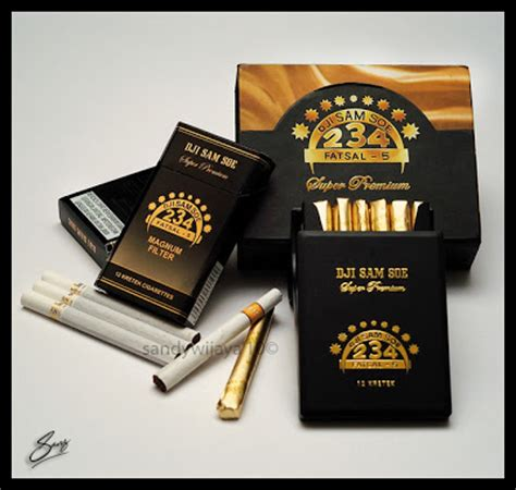 Rokok Dji Sam Soe Black phenomenal one s merk rokok terkenal di indonesia