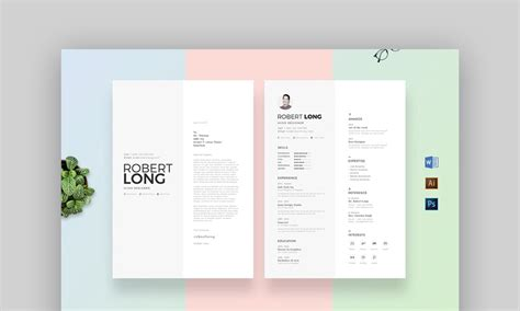 18 Best Photoshop Psd Resume Templates With Photo Formats Resume Psd Template For Photoshop