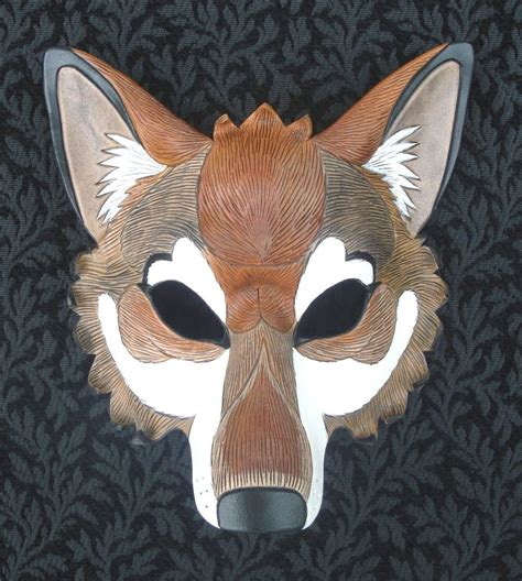 How To Make A Wolf Mask Out Of Paper - wolf mask by merimask on deviantart