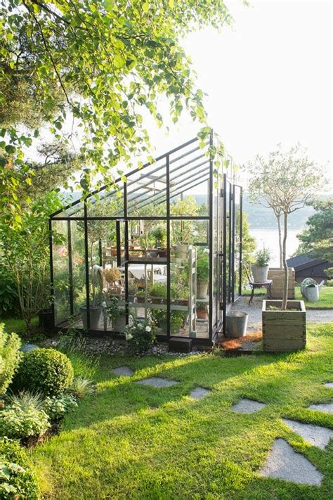 Backyard Greenhouse by Home Design Backyard Greenhouses