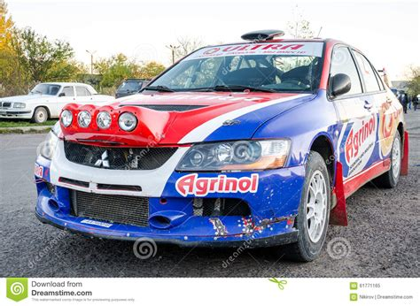 Rally Auto Racing by Car Racing Auto Race Rally Editorial Image